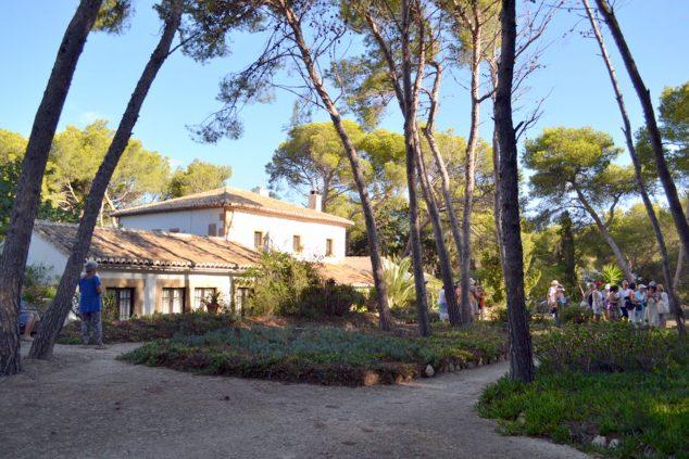 Imagen: Domus Lambertina, la casa donde se instaló Lambert en Jávea (Foto: Asociación Amics del Museu de Xàbia)