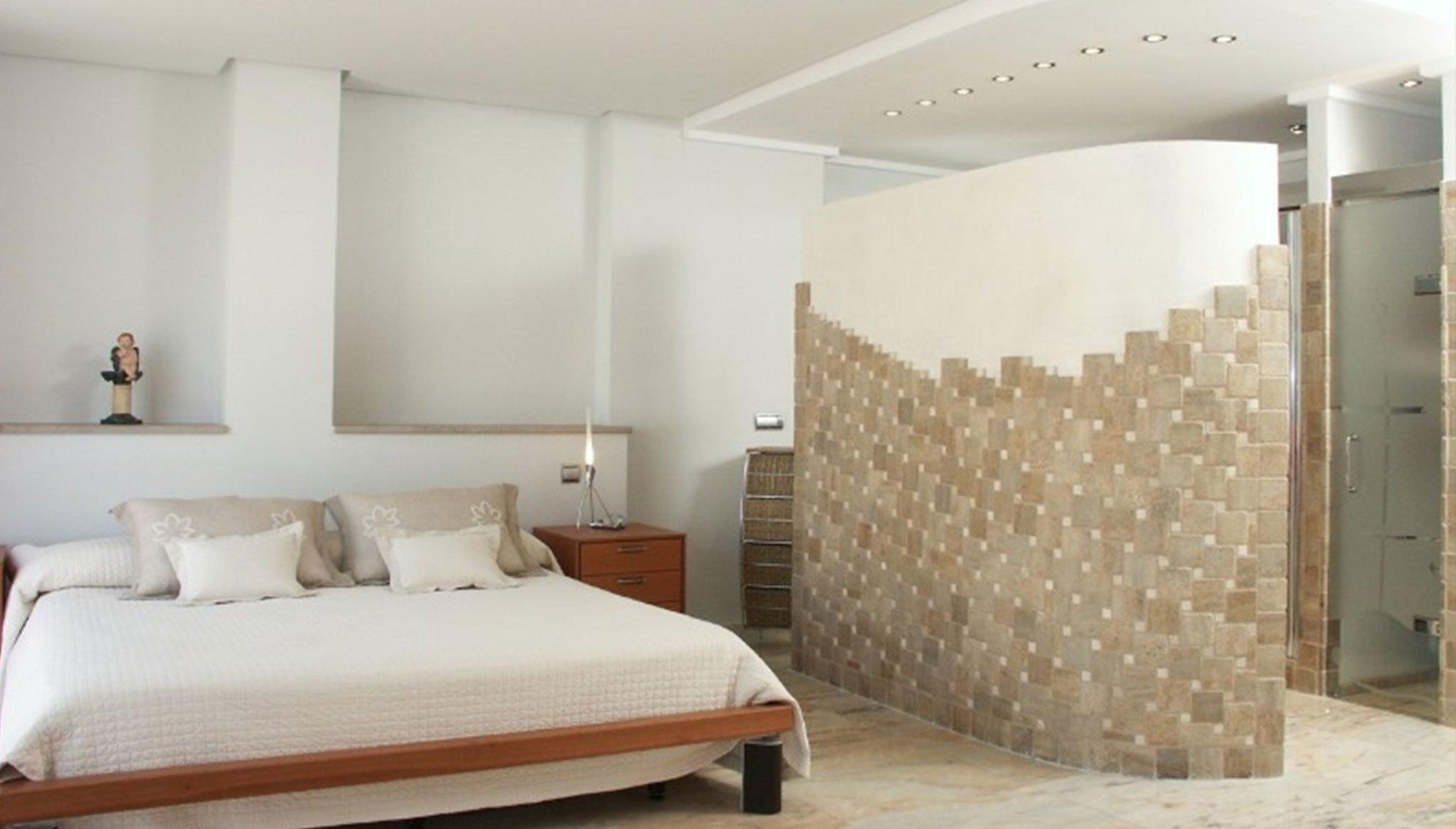 Un dels dormitoris en una casa al port de Xàbia - Terramar Costa Blanca