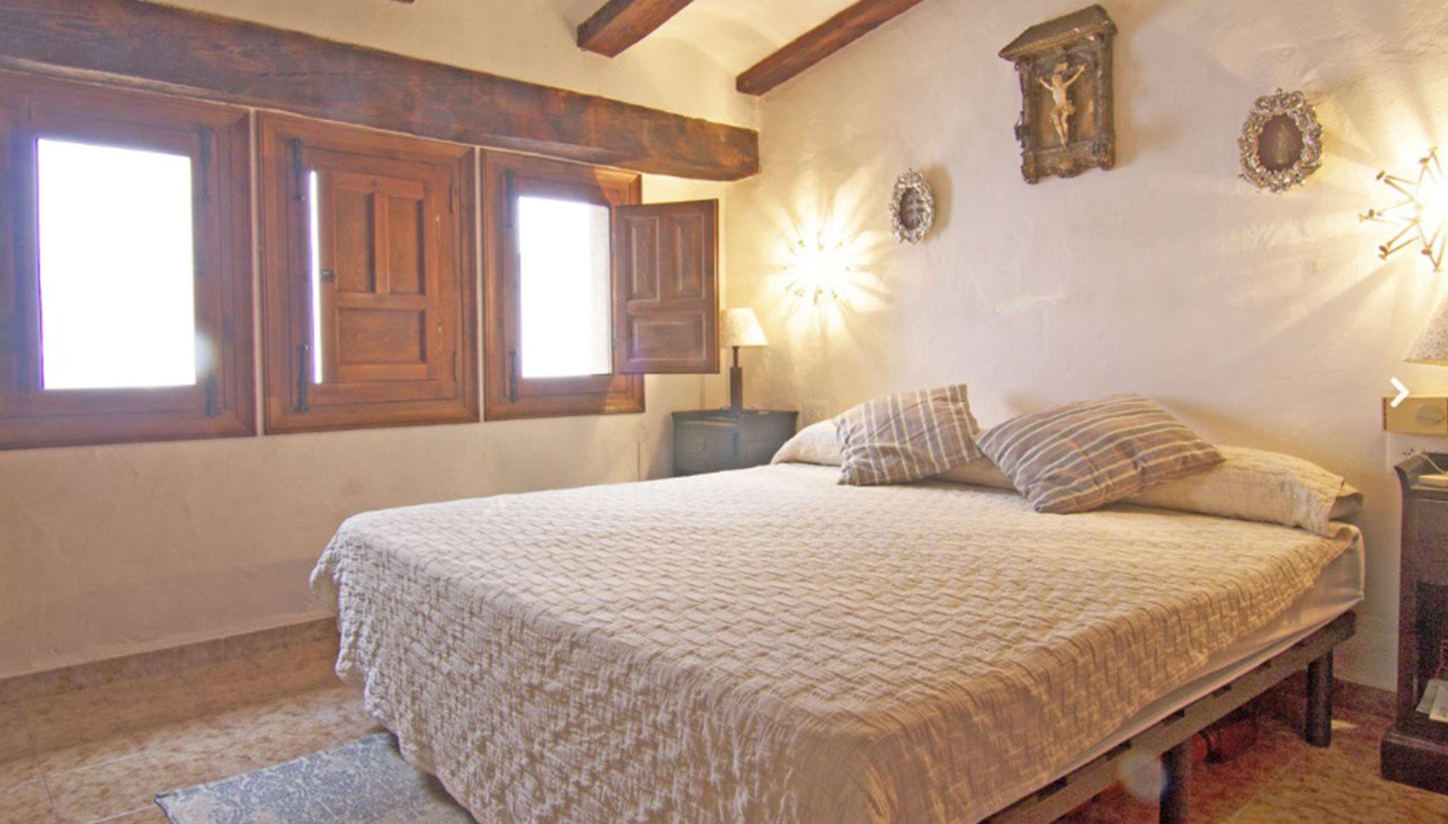 Dormitori en una casa tradicional al centre de Xàbia - MORAGUESPONS Mediterranean Houses