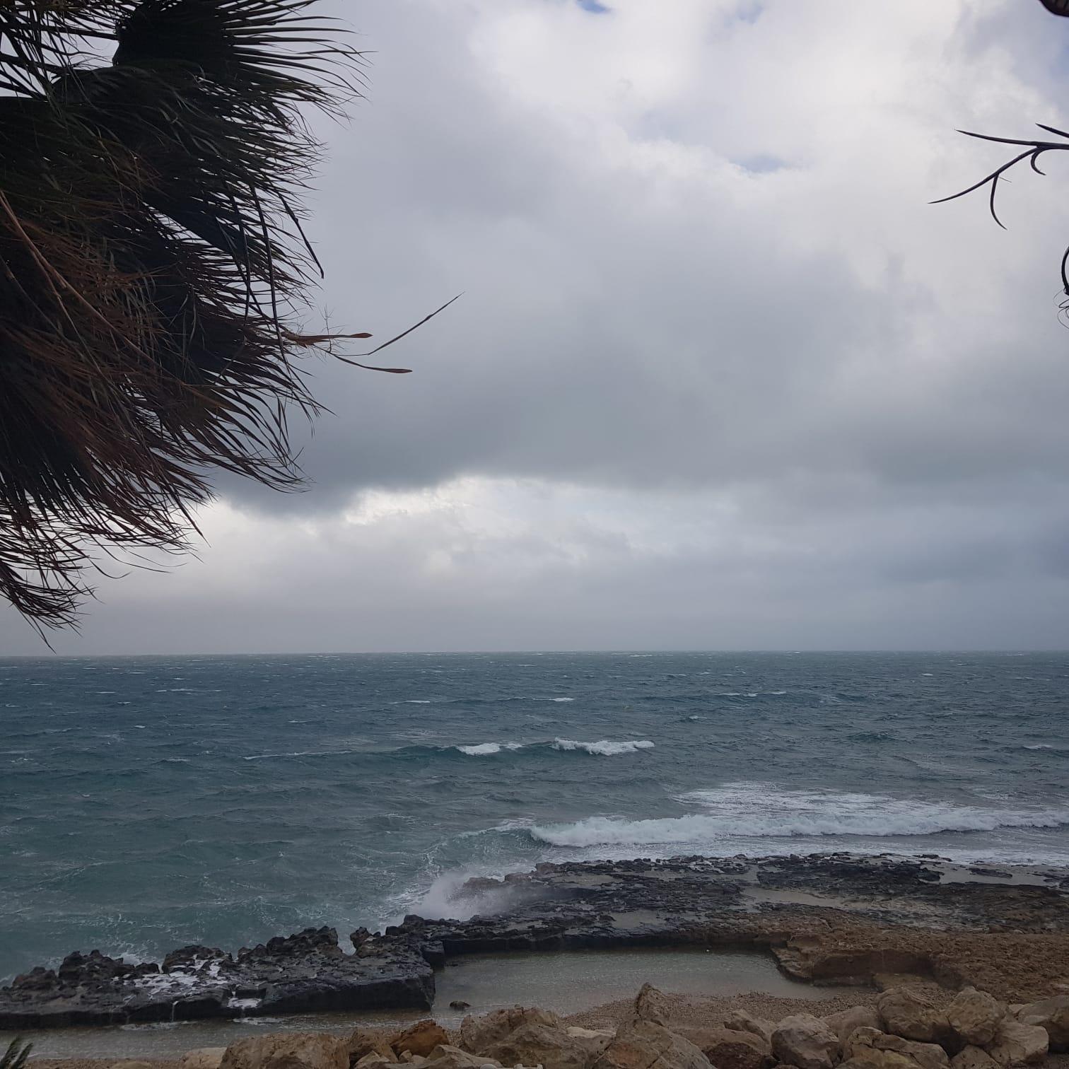 El mar toma fuerza en Xàbia