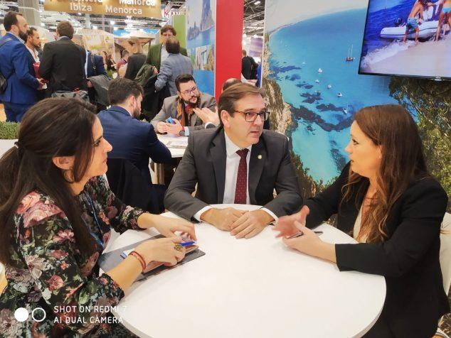 Imatge: El regidor de Turisme manté reunions de treball a Fitur 2020