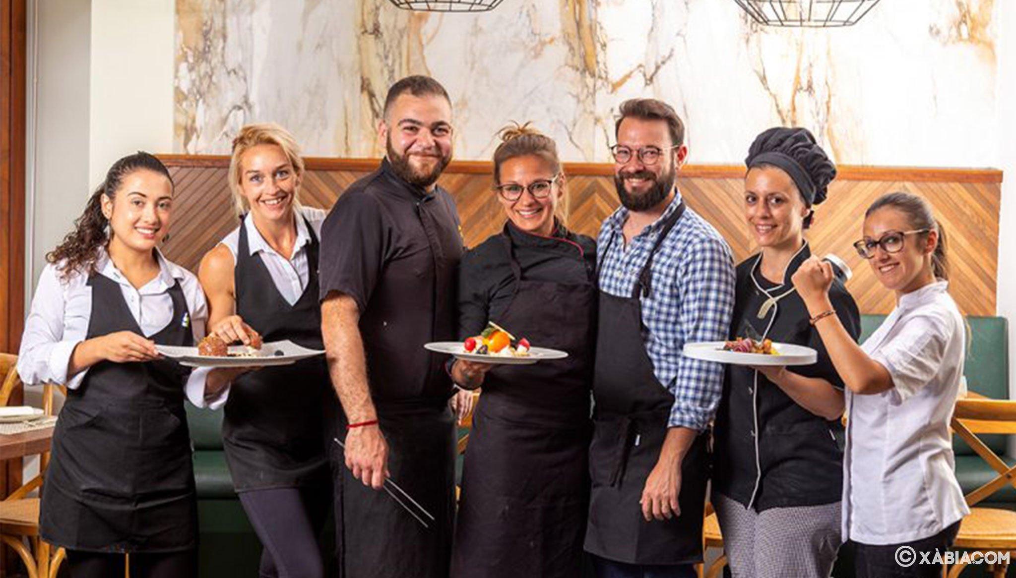 Equipo del Restaurante Da Giulia