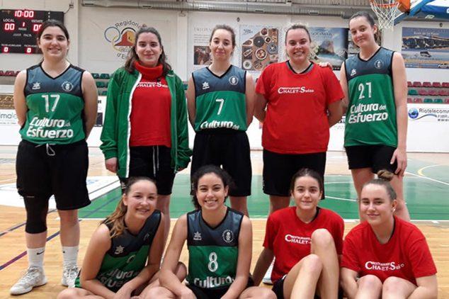 Imagen: Equipo senior femenino del CB Joventut Xàbia