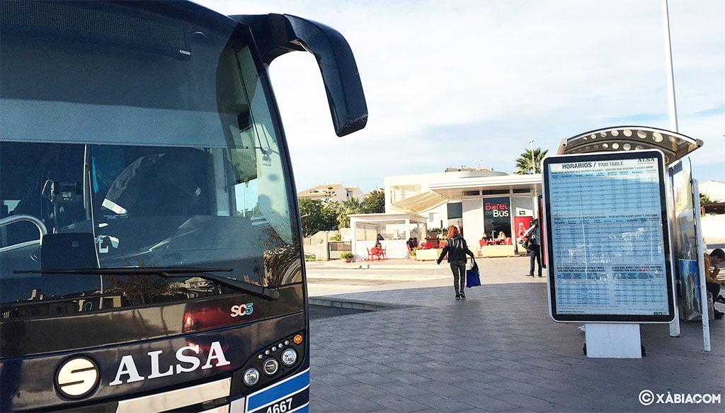 Estación de autobuses de Jávea