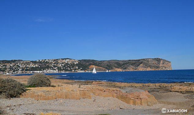 Imagen: Final de la playa del Primer Montañar