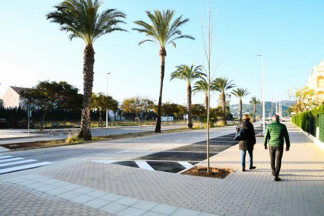 Imagen: Finalización de las obras de mejora de la Avenida Arenal