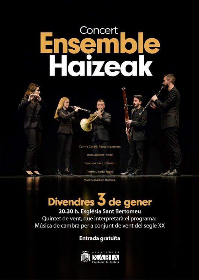 Imatge: Haizeak Ensemble