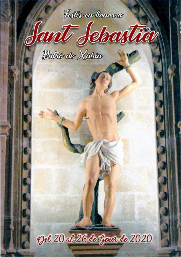 Imagen: Imagen de Sant Sebastià, patrón de Xàbia