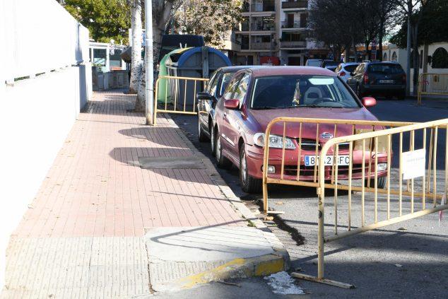 Imagen: Inicio de las obras en Avenida Els Furs