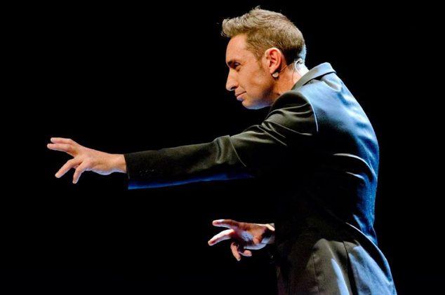 Imagen: Javier Botía en una actuación
