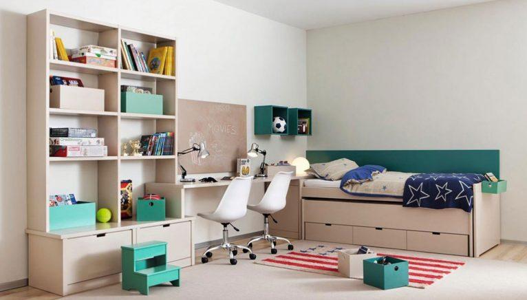 Muebles juveniles con capacidad de almacenamiento - Muebles Martínez