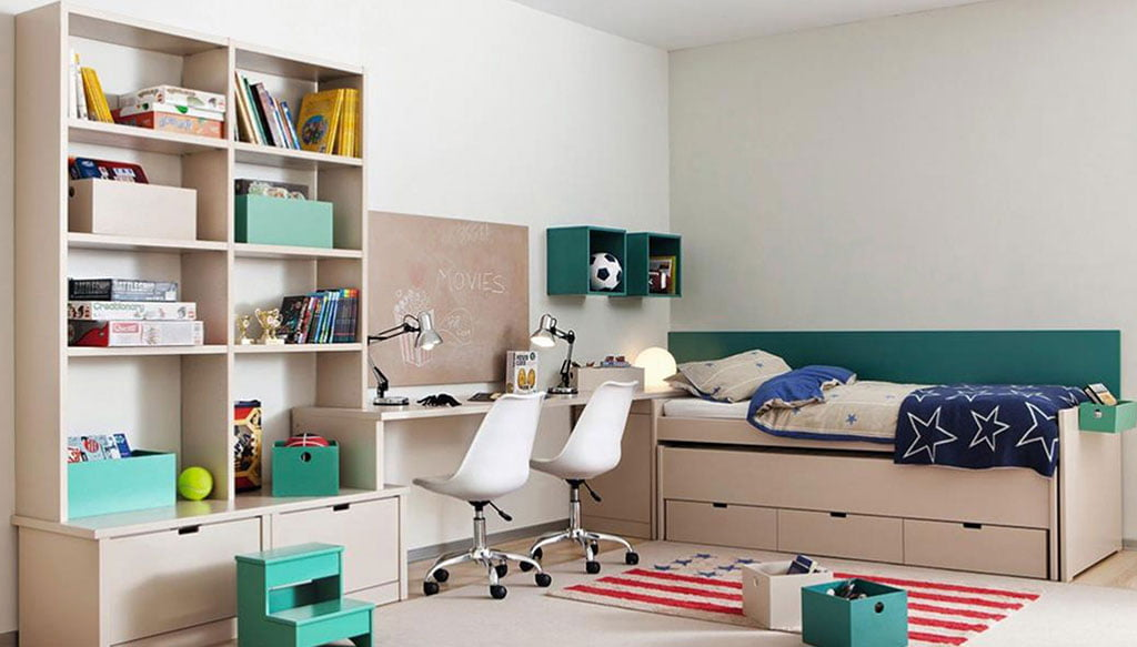 Muebles juveniles con capacidad de almacenaje – Muebles Martínez