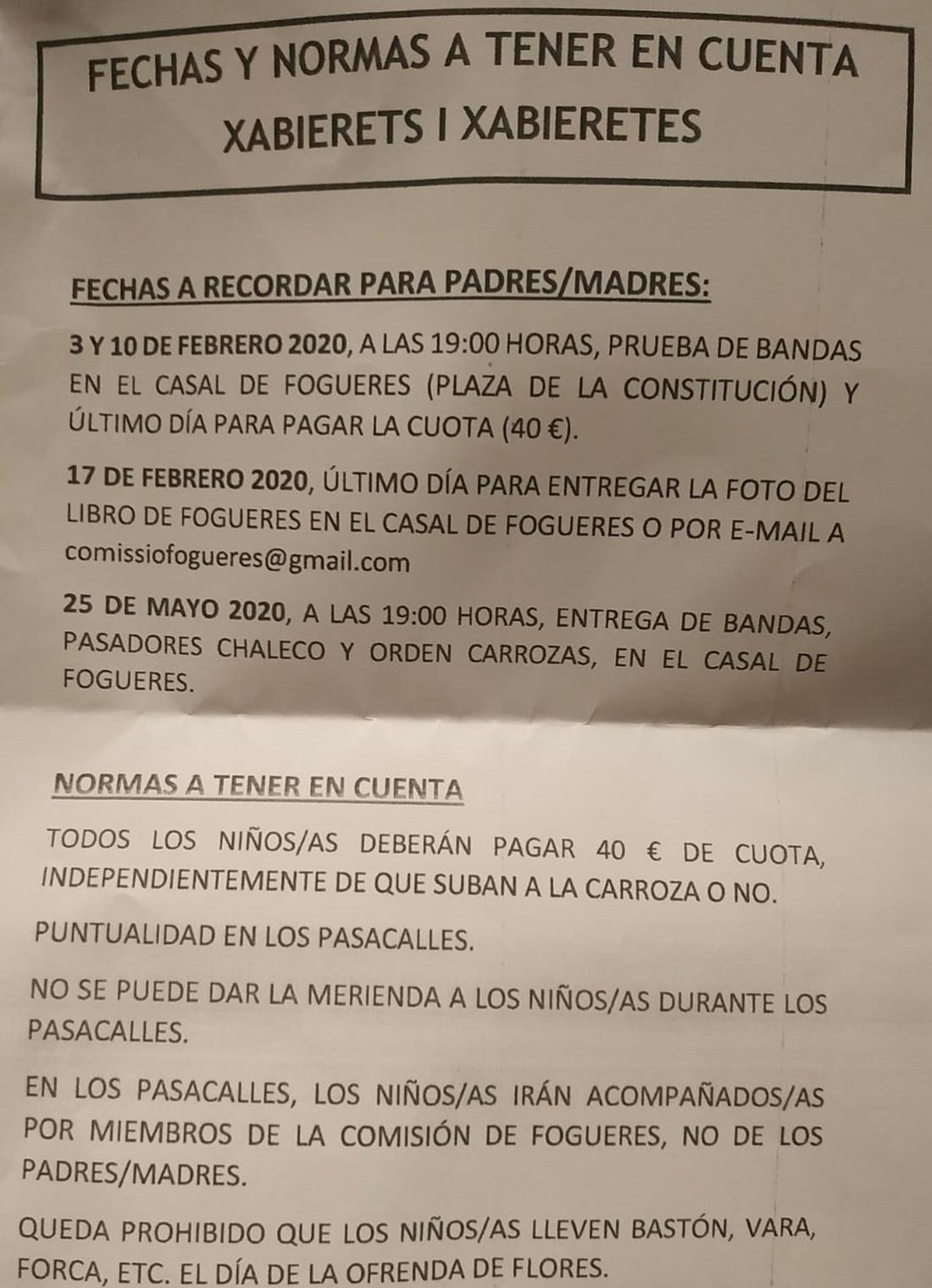 Правила и дни, которые нужно помнить для приготовления Fogueres 2020