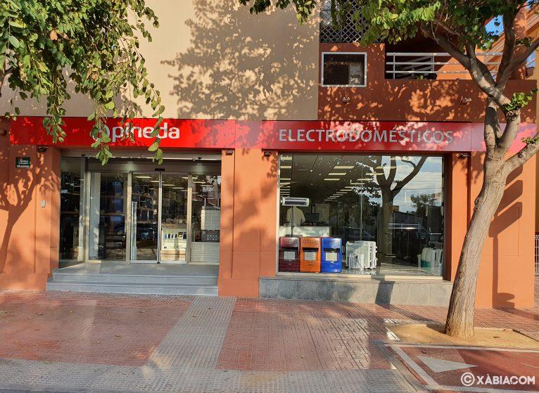 Nueva apertura Jávea - Electrodomésticos Pineda