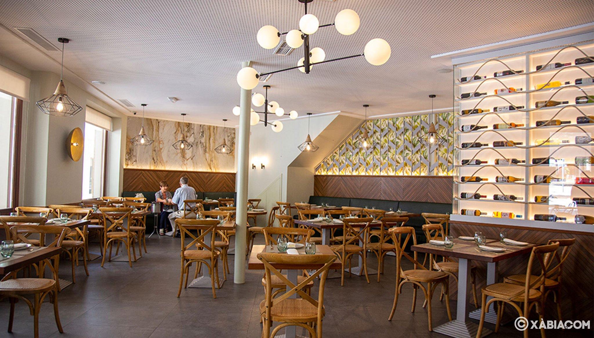 Comedor acogedor y moderno en Restaurante Da Giulia