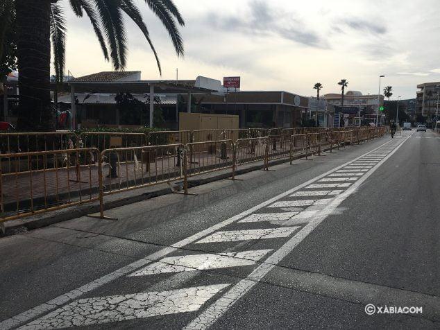 Imagen: Obras en la zona del Arenal