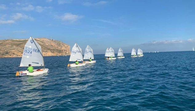 Imagen: Optimits del Clinic en el mar