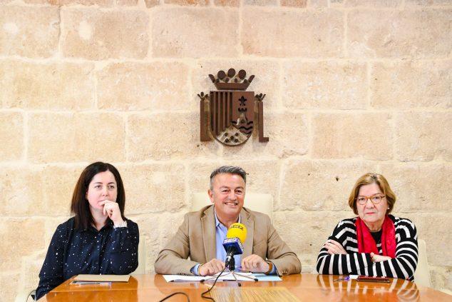 Afbeelding: presentatie van Xàbia-projecten voor 2020