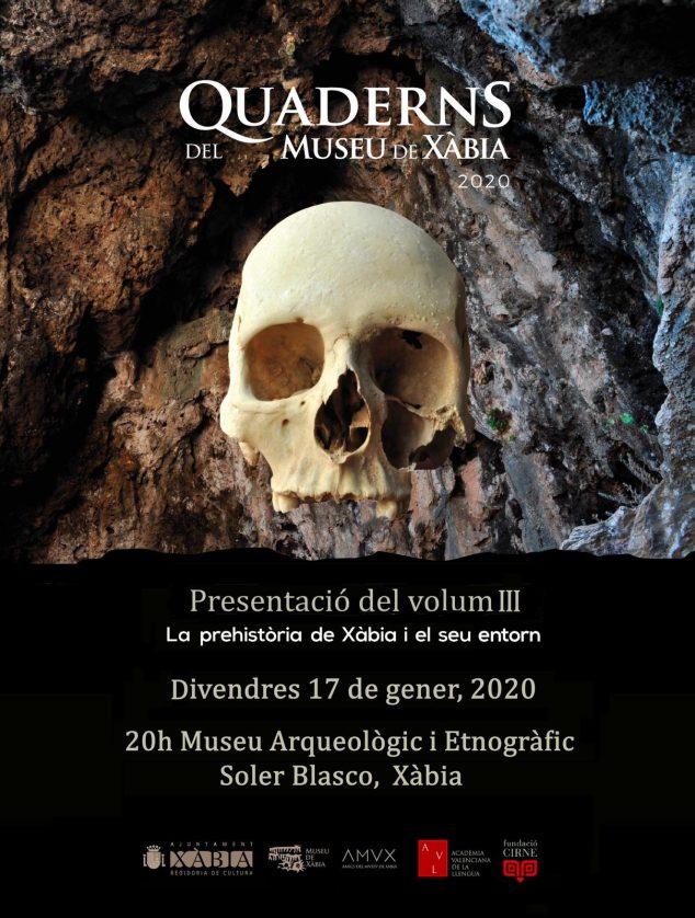 Afbeelding: poster van de presentatie van Quaderns del Museu