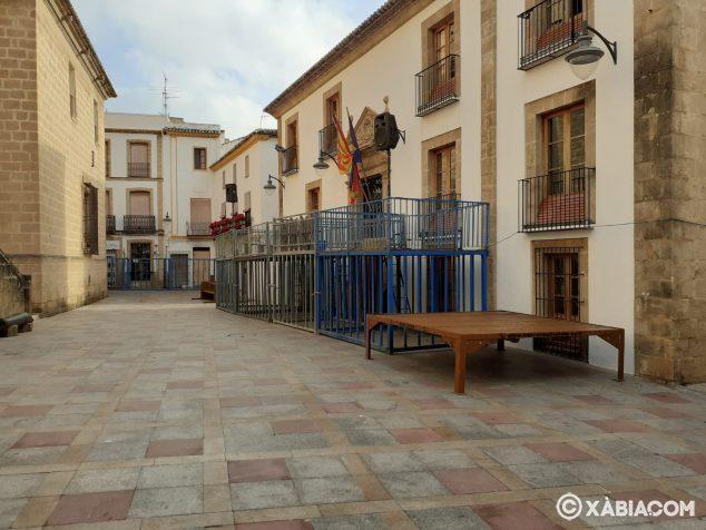 Imagen: Recinto taurino en la Plaza de la Iglesia
