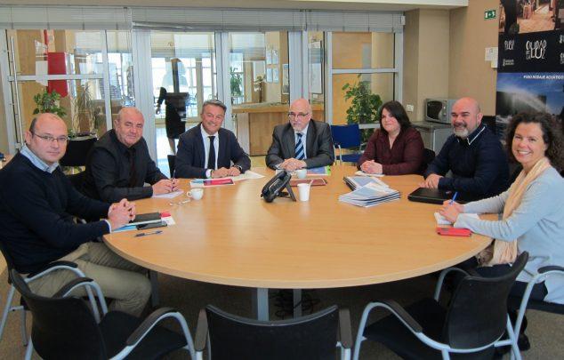 Imagen: Reunión en el Distrito Digital de Alicante