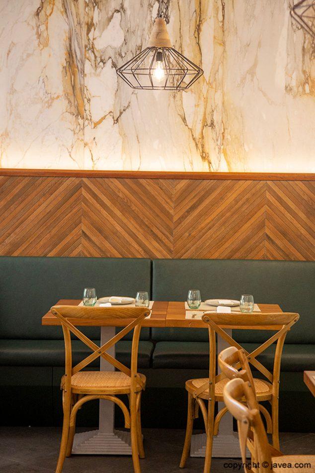 Imagen: Rincones del Restaurante Da Giulia