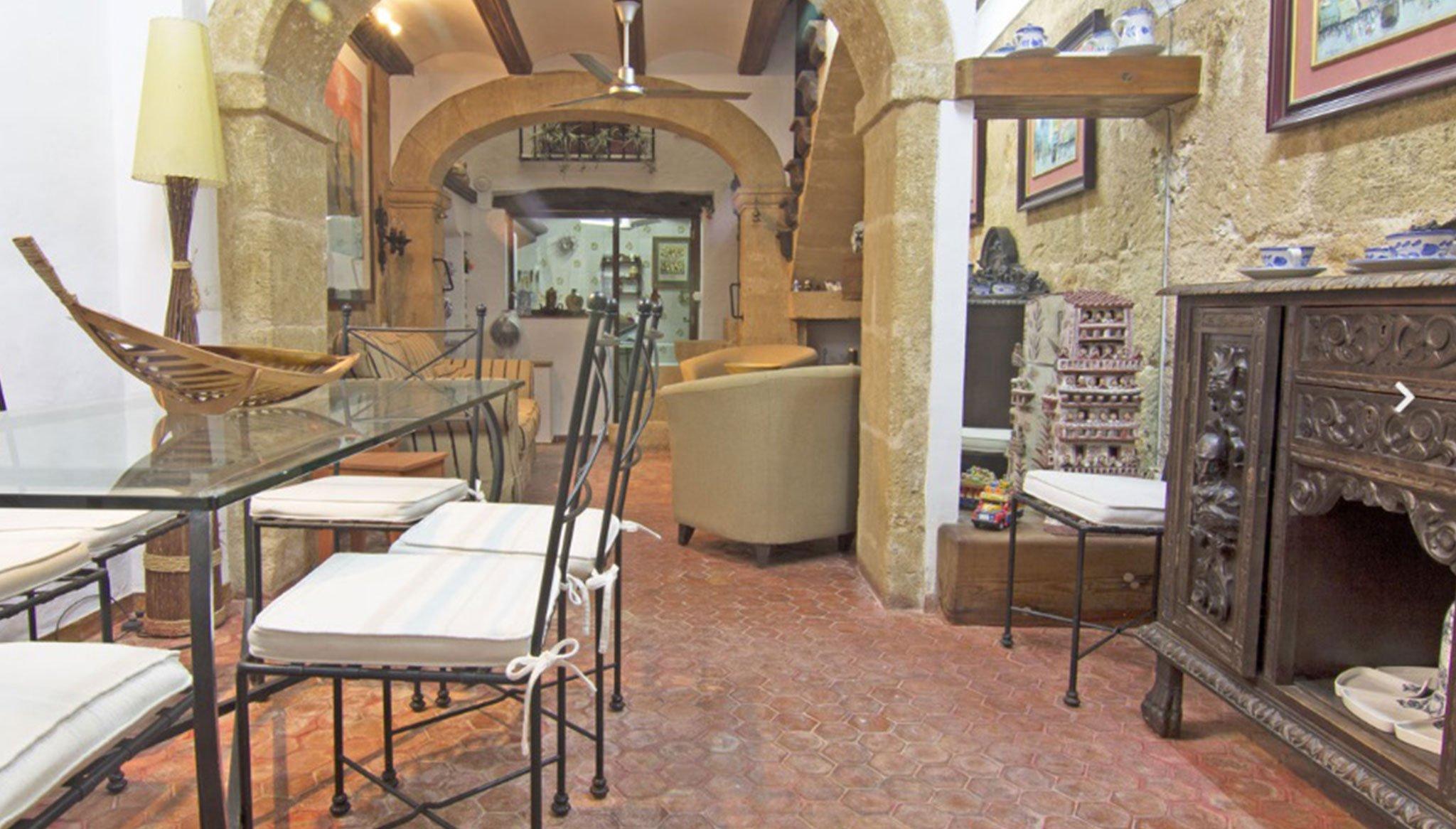 Saló d'una casa al centre de Xàbia - MORAGUESPONS Mediterranean Houses