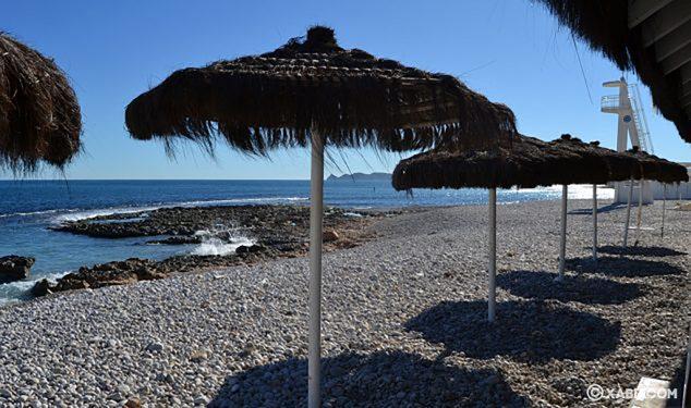 Imagen: Sombrillas a pie de playa