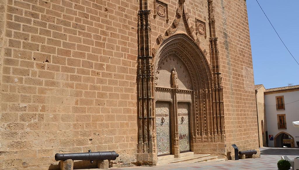 Puerta de San Bartolomé, de estilo medieval