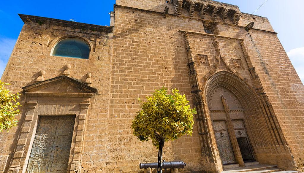 Vista de la Iglesia de San Bartolomé de Xàbia
