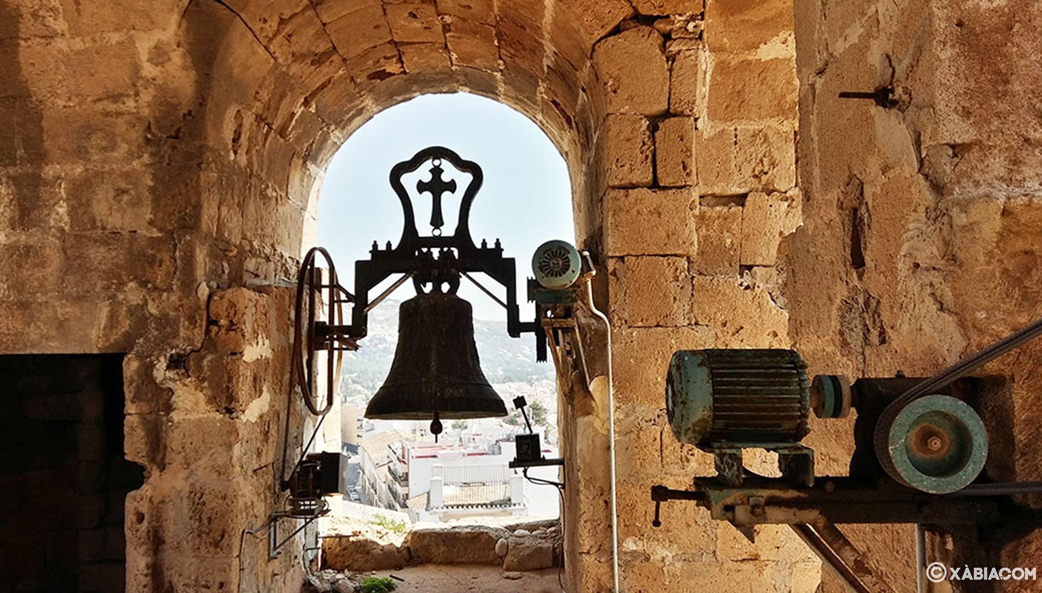 Vistas desde el campanario de la Iglesia de San Bartolomé de Xàbia