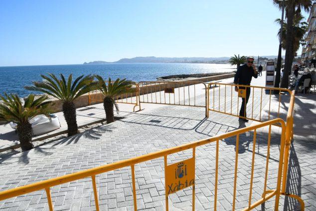 Imagen: Acondicionado el pavimento del Paseo de Marina Española