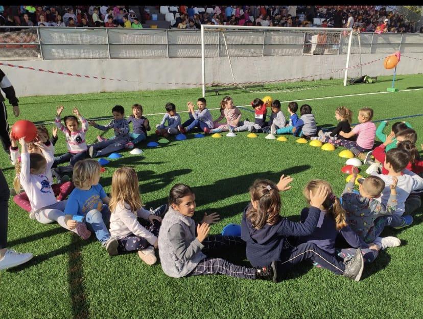 Activitats de cooperació pel Dia de la Pau de CEIP Vicente Tena