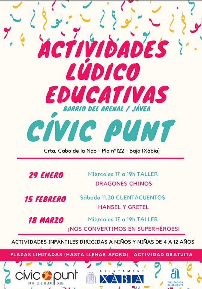 Actividades del Civic Punt
