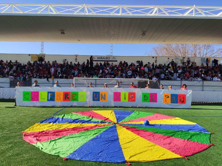 Activitats Dia de la Pau de l'col·legi Vicente Tena