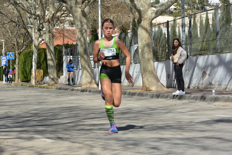 Atleta femenina del CA Llebeig Xàbia