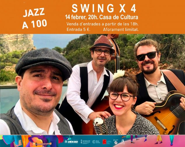 Imagen: Banda SWING X 4