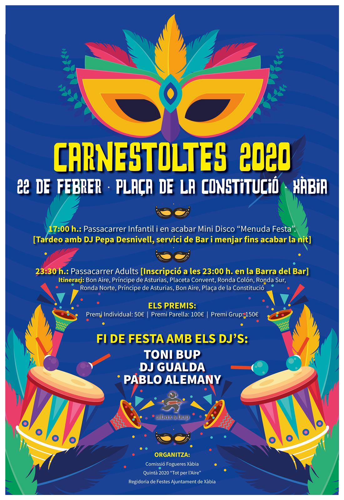 Carnestoltes Xàbia 2020