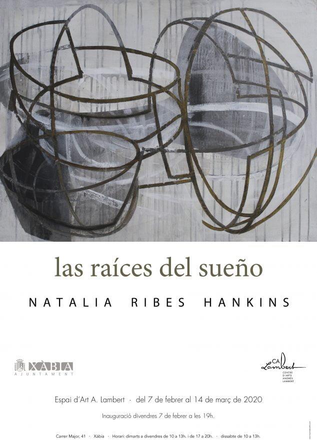 Imagen: Cartel de la exposición de Natalia Ribes