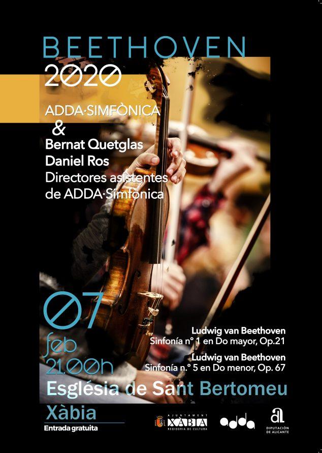 Imagen: Cartel del concierto de ADDA