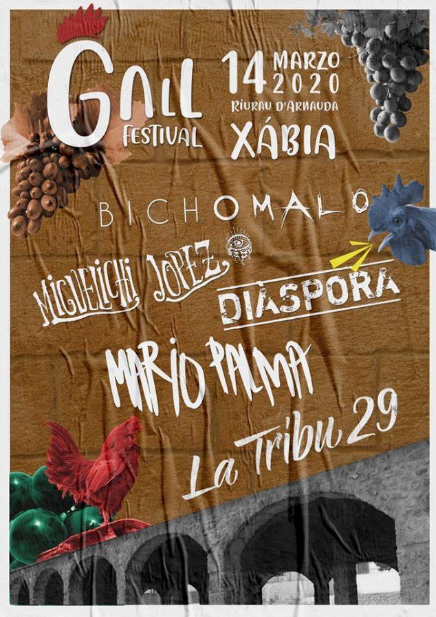 Imagen: Cartel del Gall Festival 2020