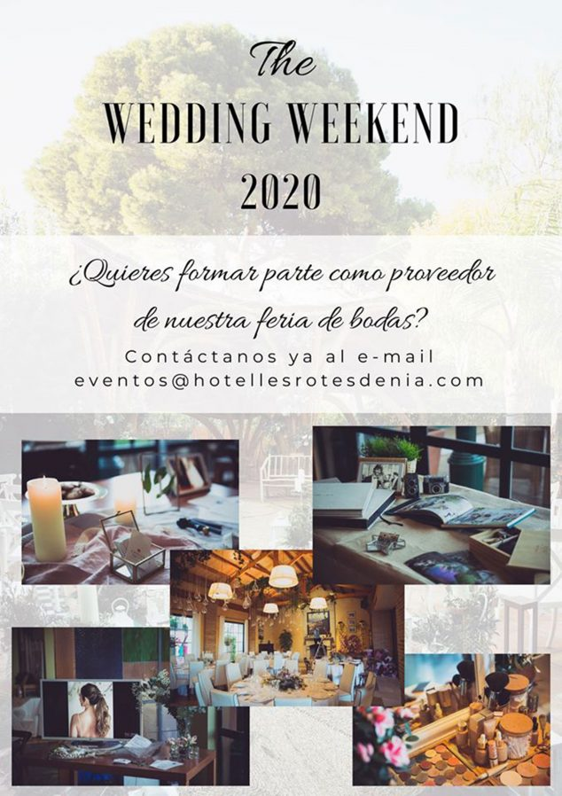 Afbeelding: Hotel Les Rotes Wedding Weekend Poster