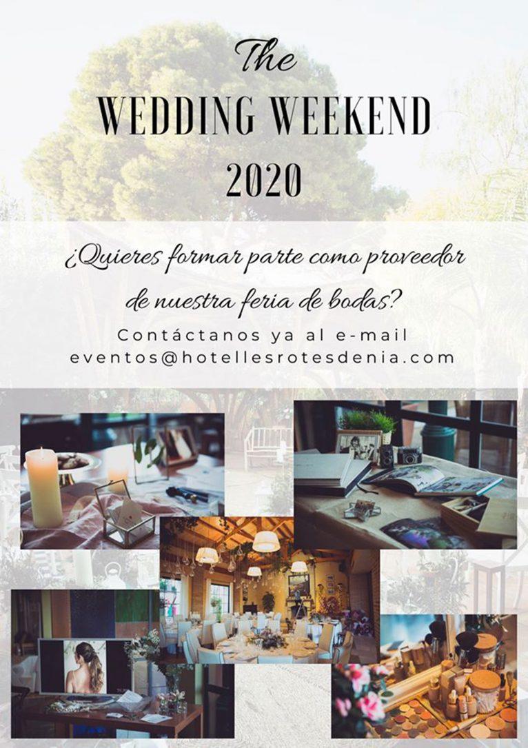 Cartell de l'Wedding Weekend de Hotel Les Rotes