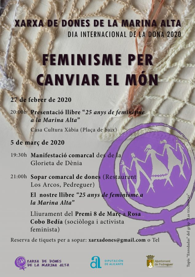 Imagen: cartel xarxa dones 2020
