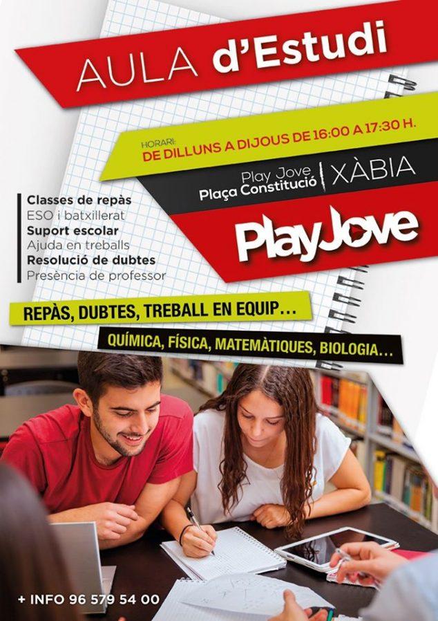 Imagen: Clase de refuerzo en Play Jove