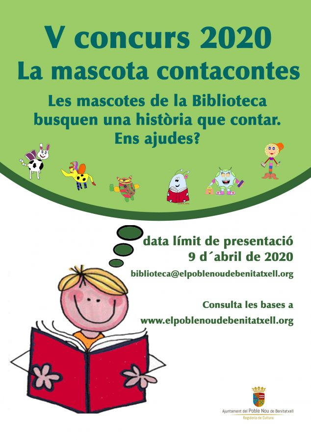 Imagen: Concurso Mascota de la Biblioteca