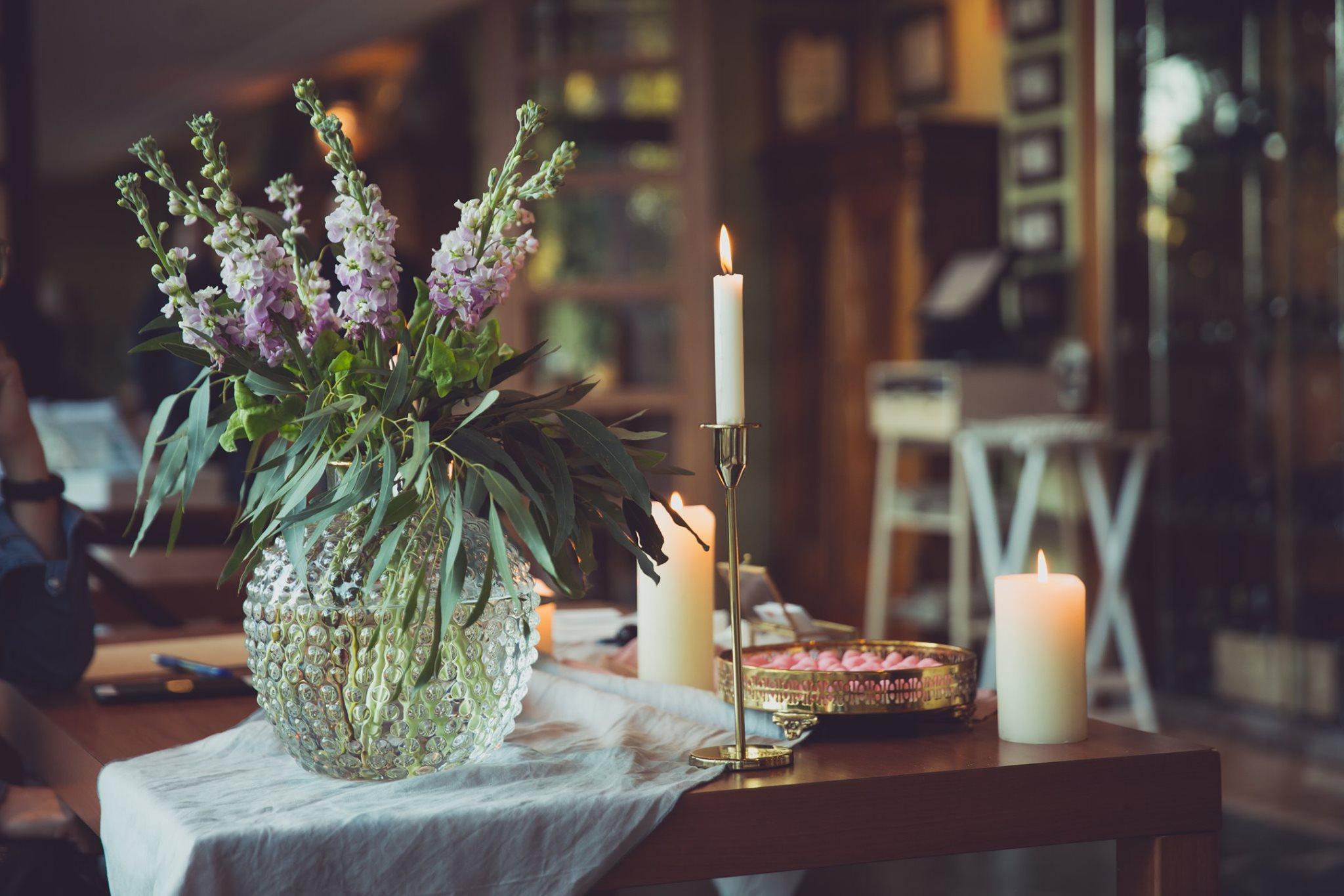 Decoració per a casaments i esdeveniments en el Wedding Weekend de Hotel Les Rotes