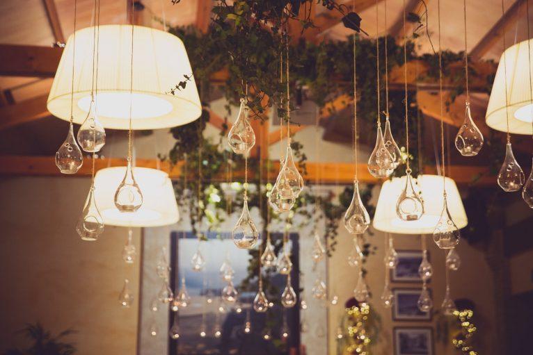 Detall de decoració al Wedding Weekend de Hotel Les Rotes