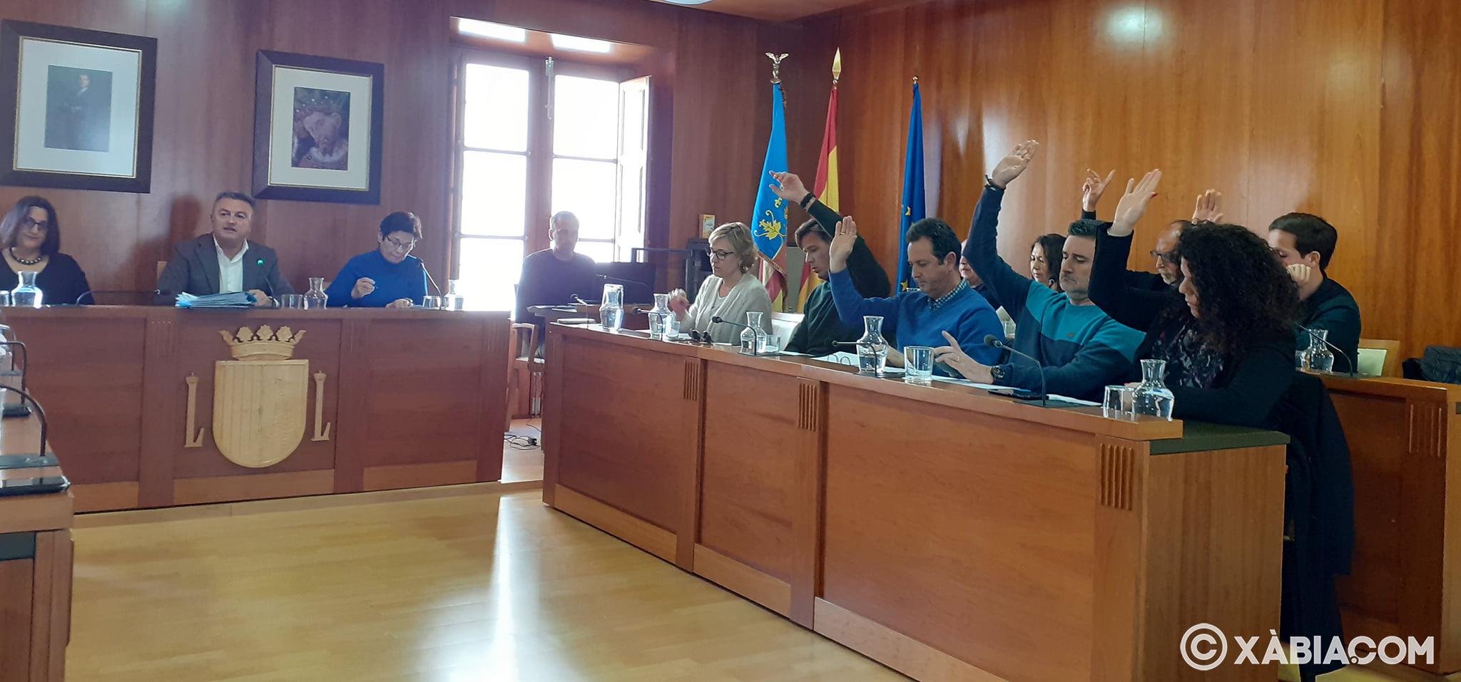 El PP de Xàbia se abstiene en la votación de la contrata d basura
