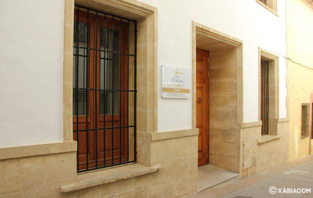 Imagen: Entrada de Archivo Municipal de Jávea